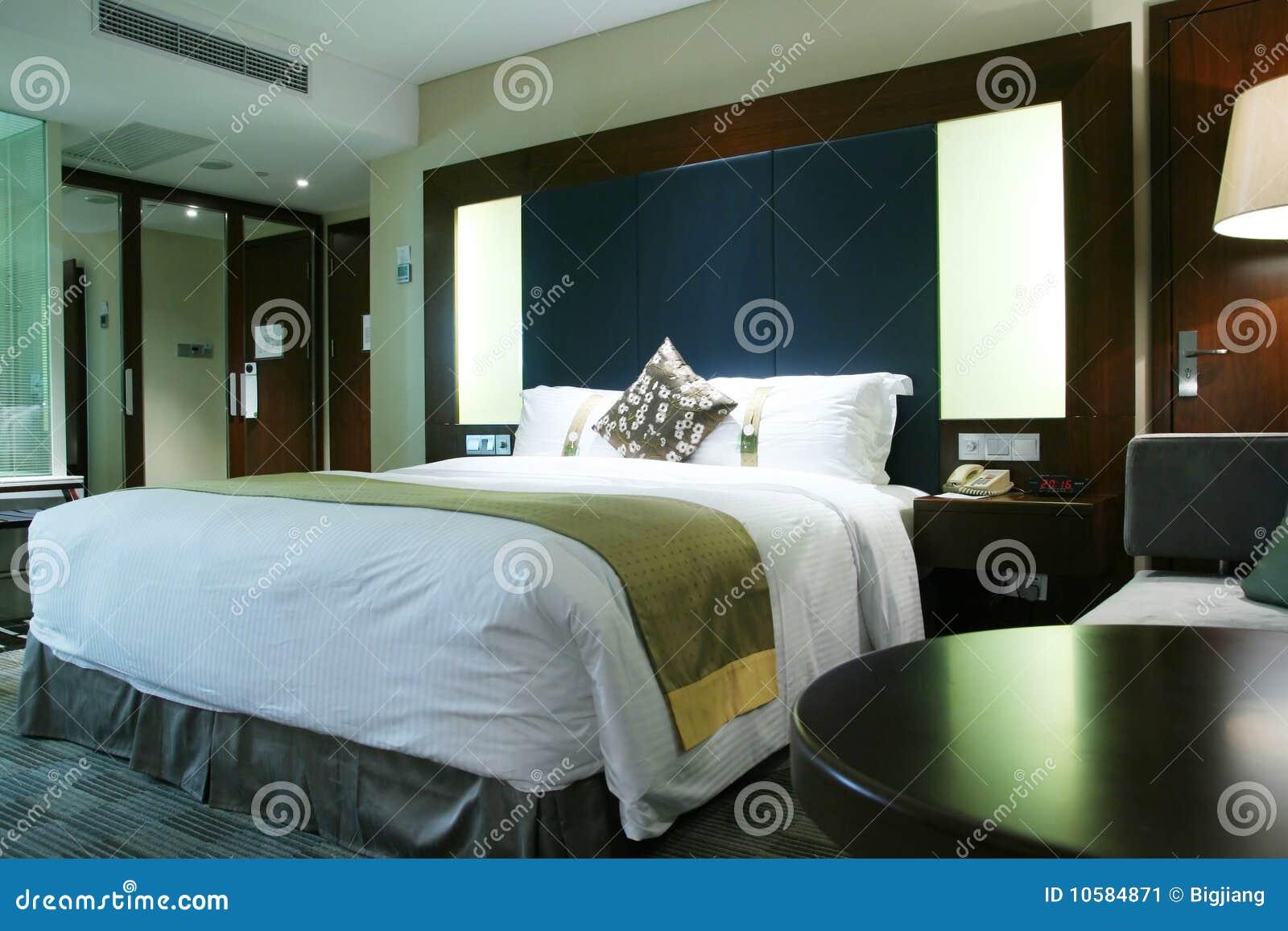 Afbeelding Slaapkamer : De Slaapkamer Van Het Hotel Stock Afbeelding ...