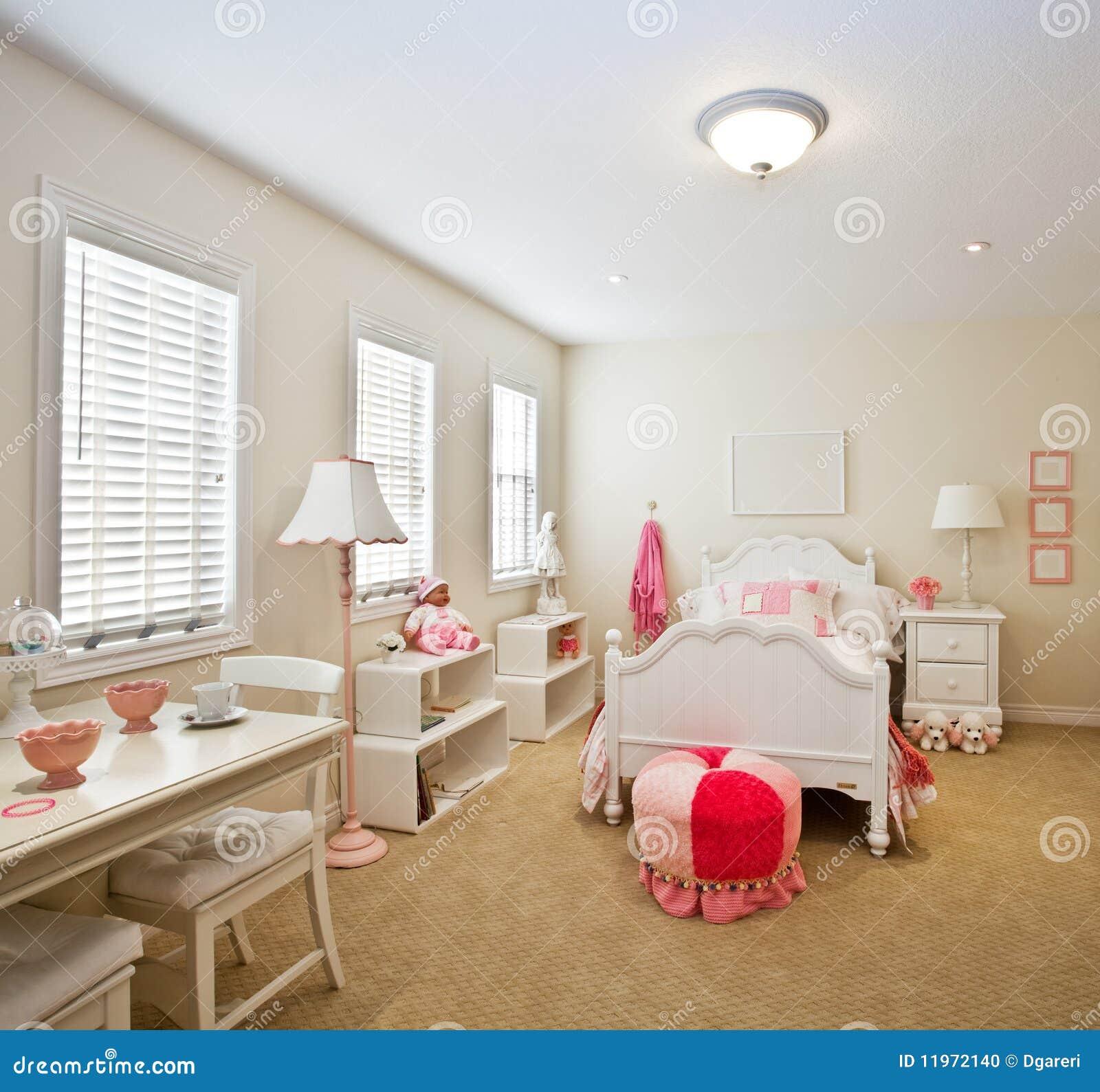 de slaapkamer van het kind