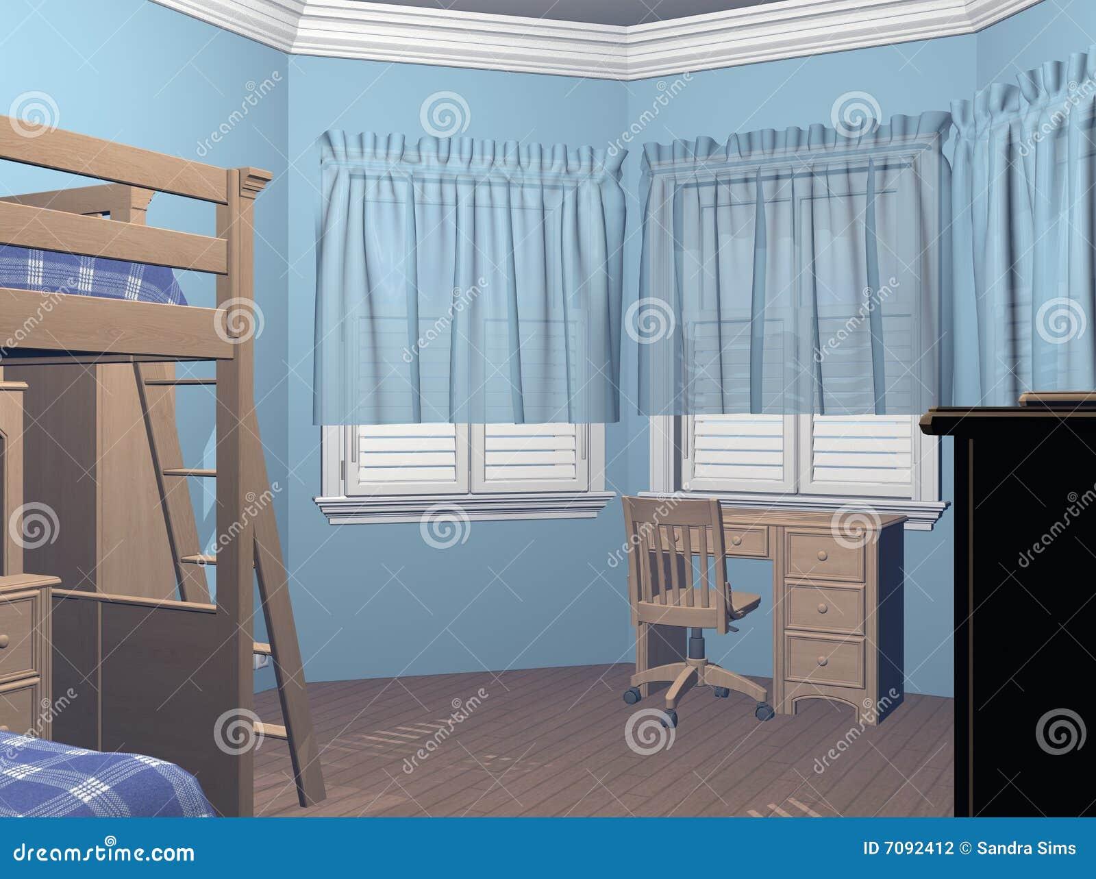 de slaapkamer van jongens