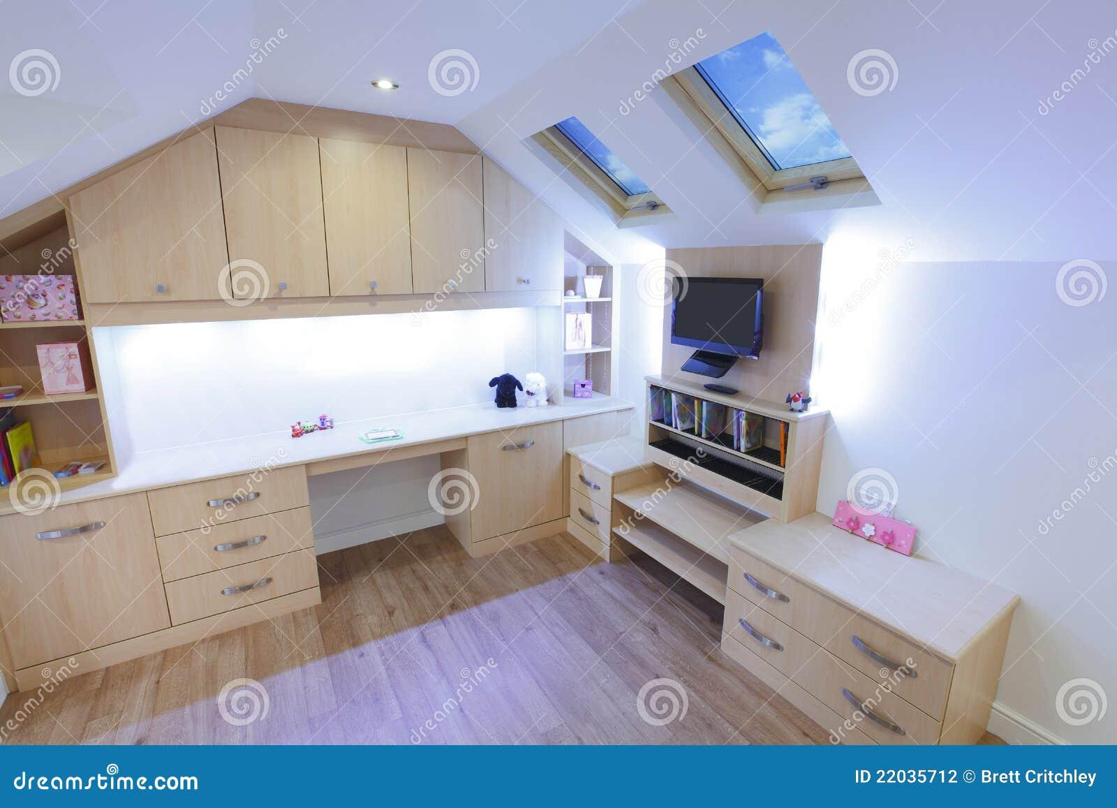 De slaapkamer van kinderen stock fotografie afbeelding 22035712 - Baby meisje slaapkamer foto ...