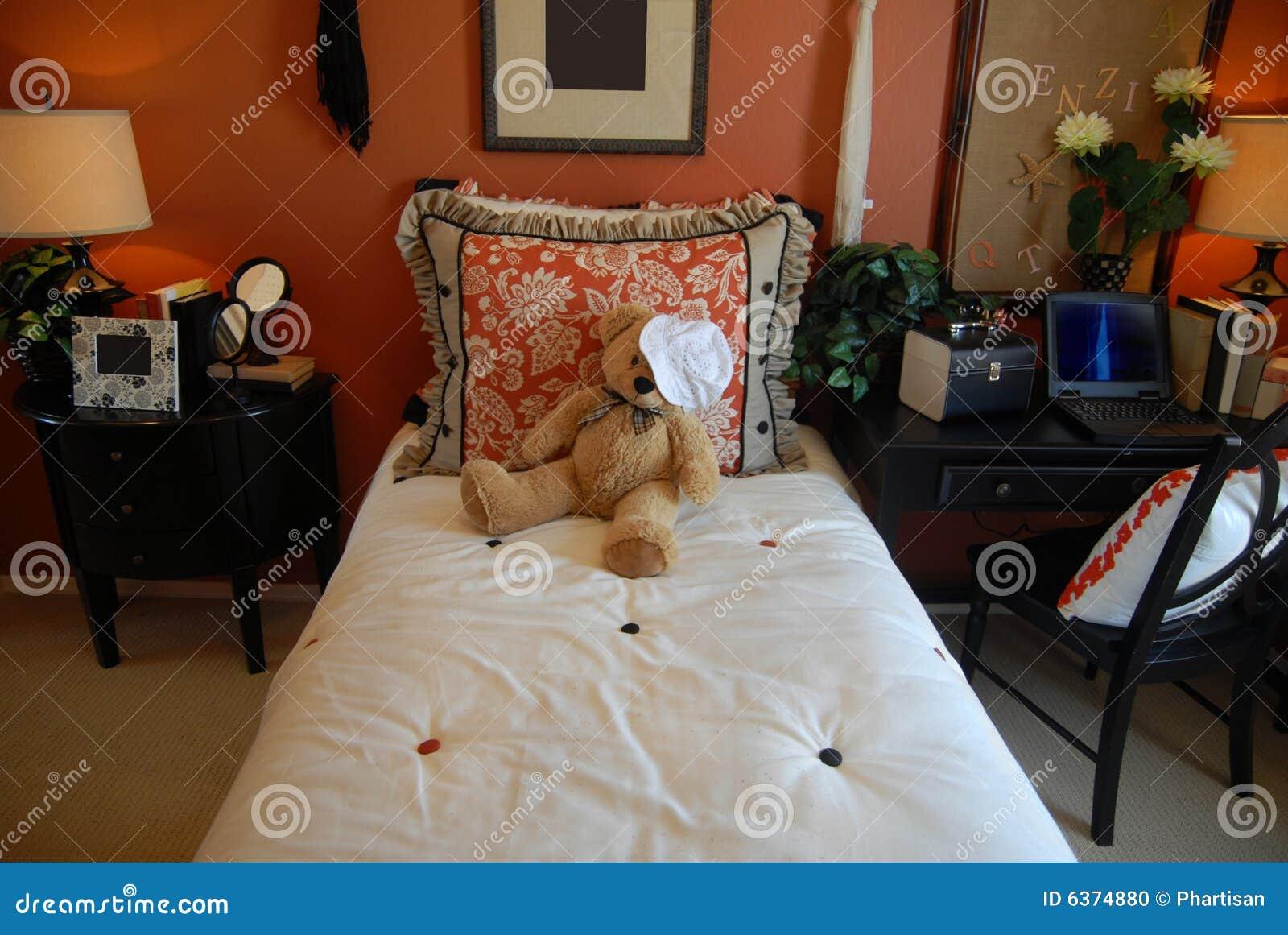 De slaapkamer van tieners stock foto beeld 6374880 - Foto van tiener slaapkamer ...