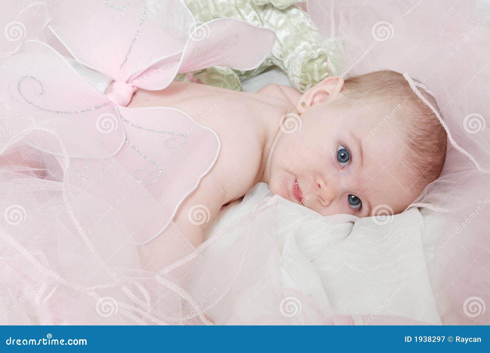 De slaperige Baby van de Engel