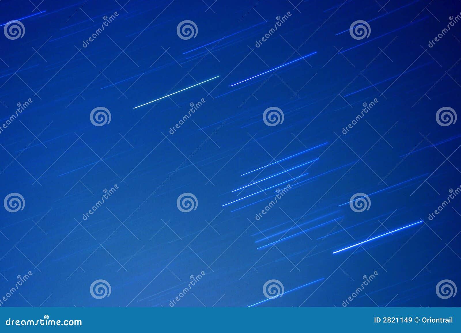 De sleep van Orion in de hemel
