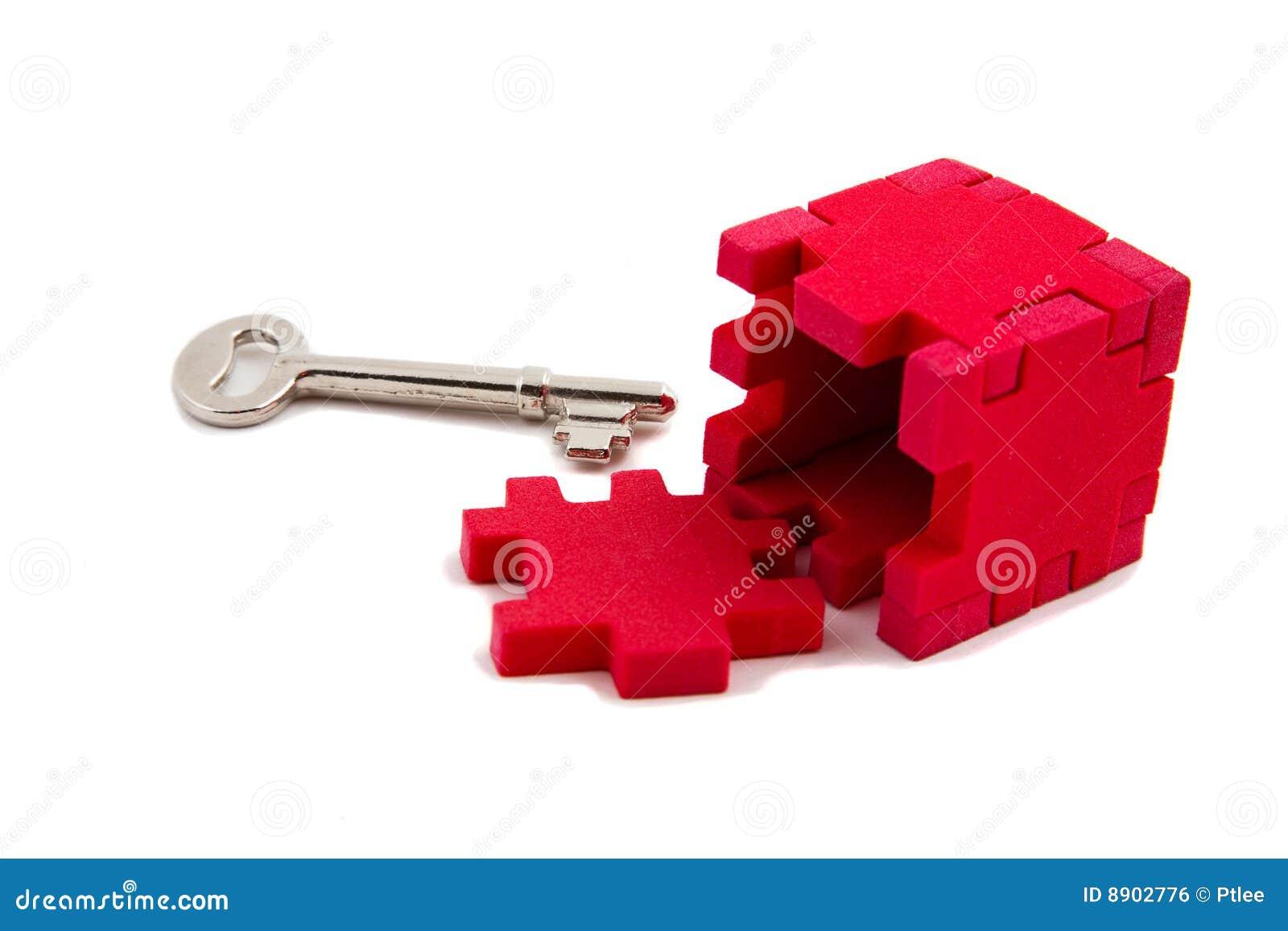 De sleutel opent raadsel