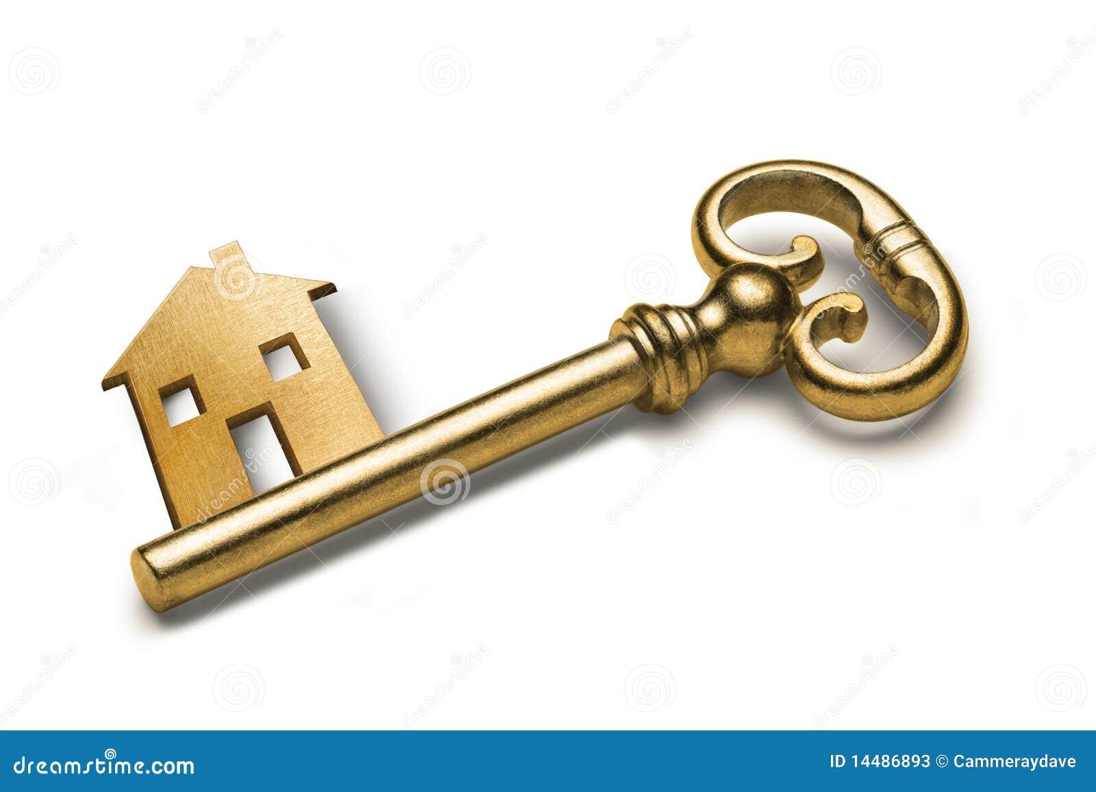 De sleutel van het huis stock afbeelding afbeelding bestaande uit investeer 14486893 for De ingang van het huis