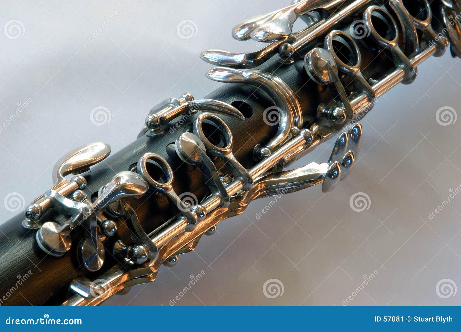 De Sleutels van de klarinet
