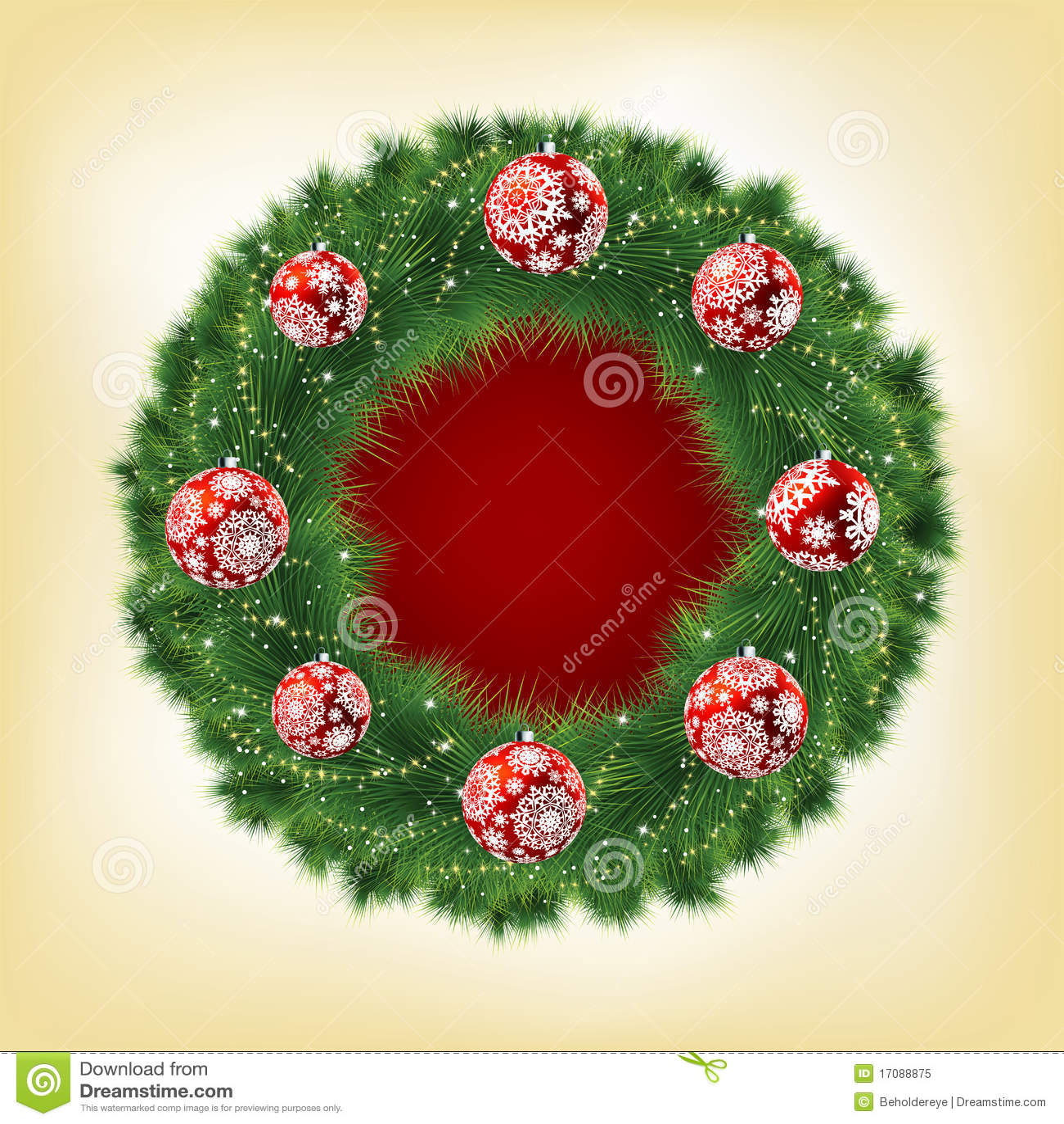 De slinger van Kerstmis. EPS 8
