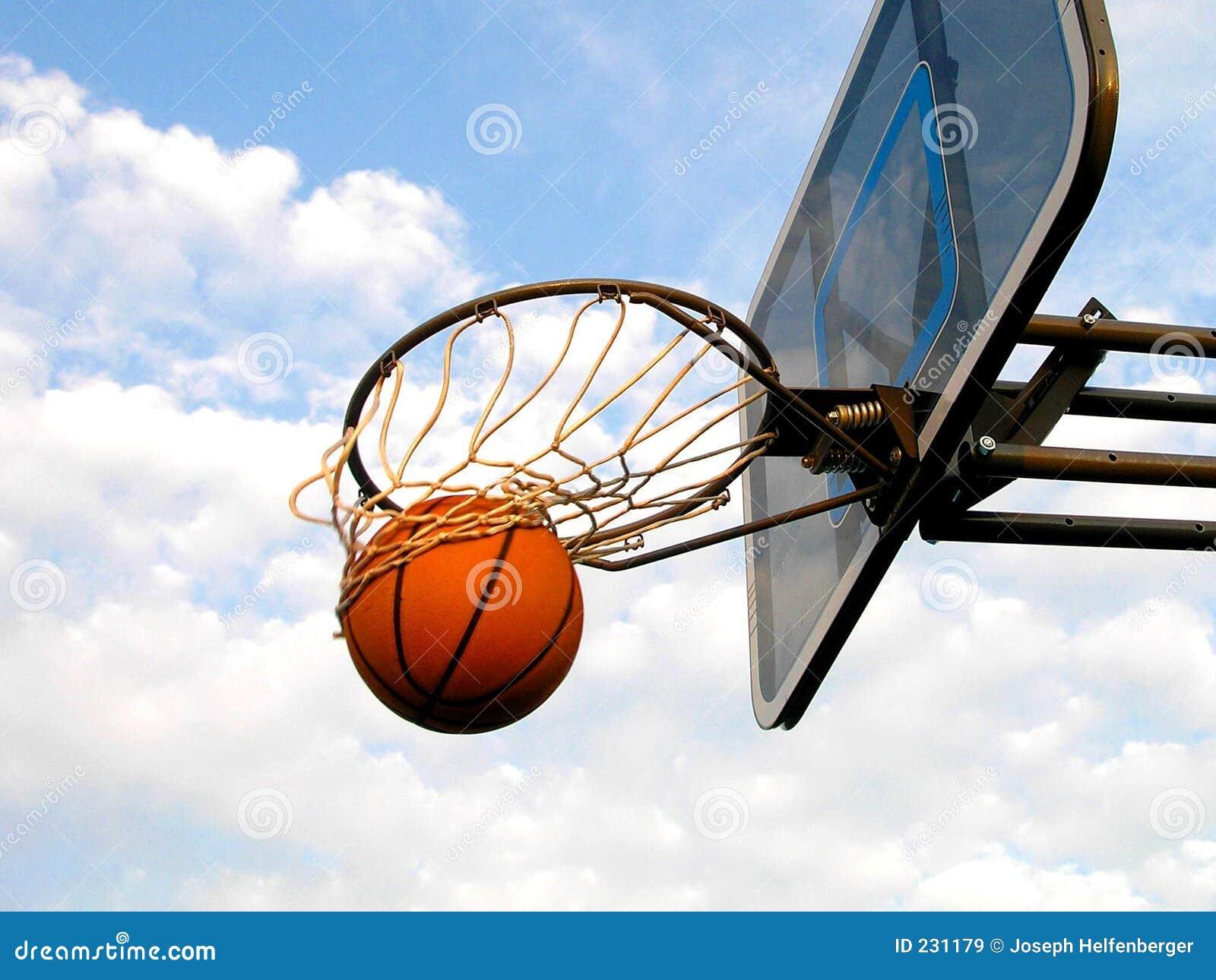 De Slis van het basketbal