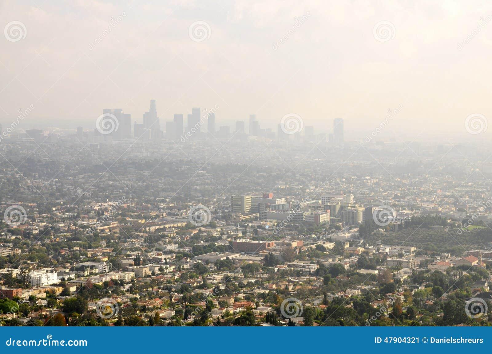 De Smog van Los Angeles