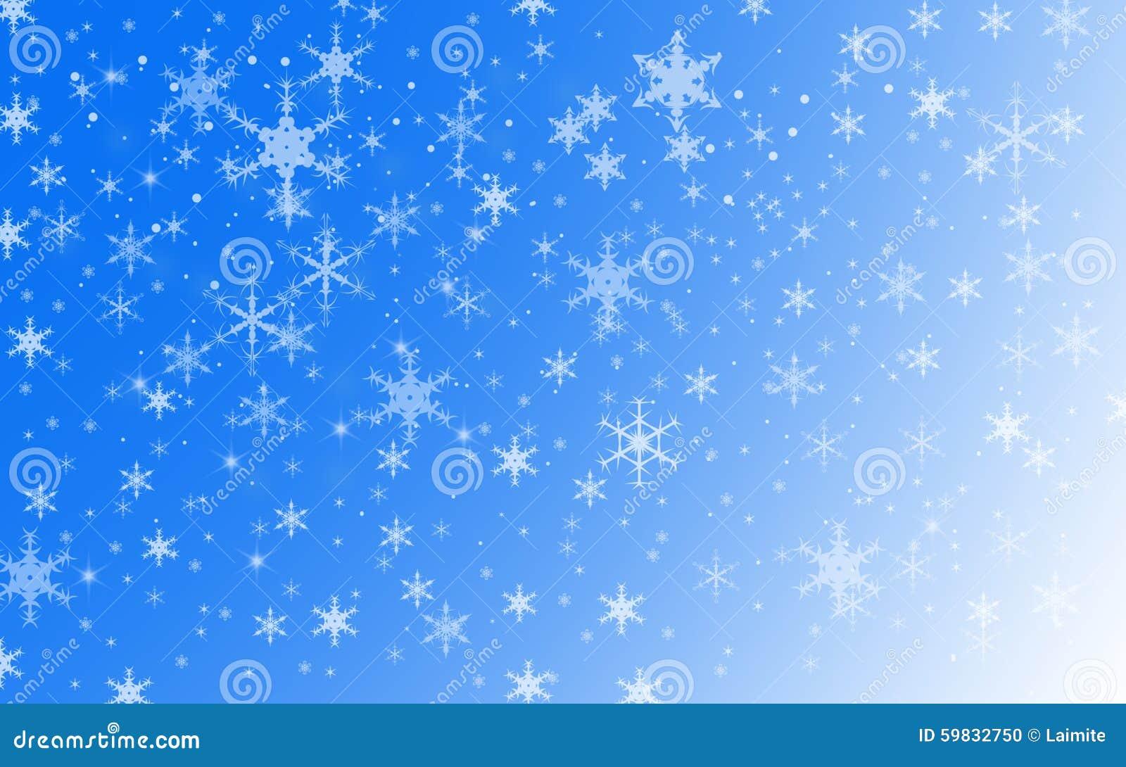 De Sneeuwachtergrond van de de wintervakantie