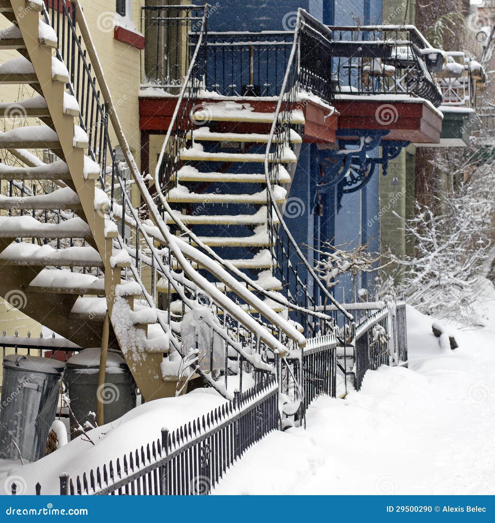De sneeuwonweer van Montreal