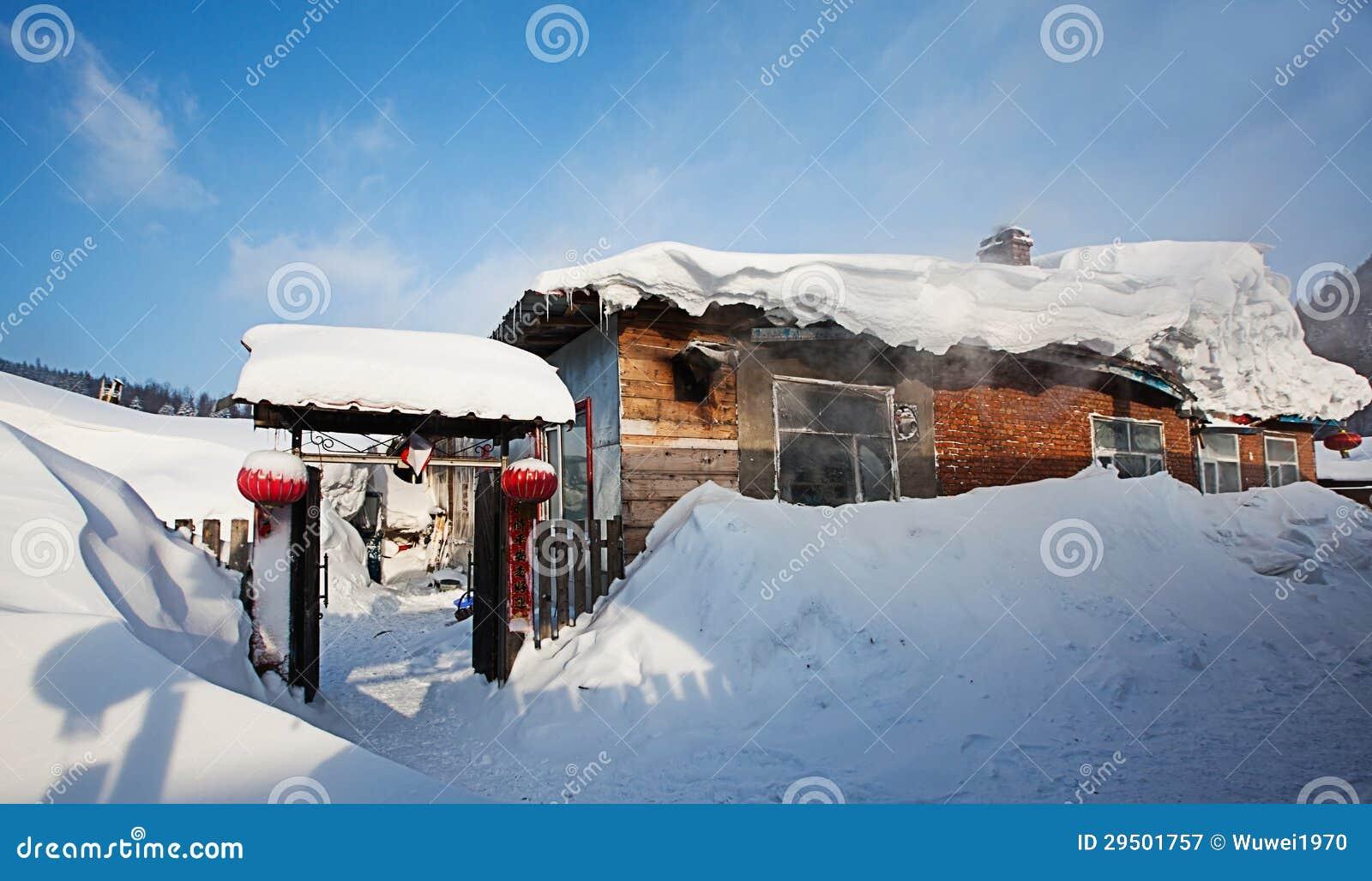 De sneeuwstad van China