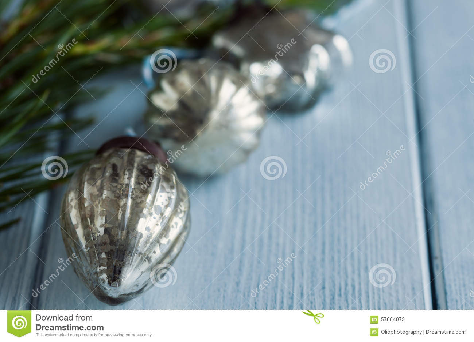 De snuisterijen van het Kerstmisglas