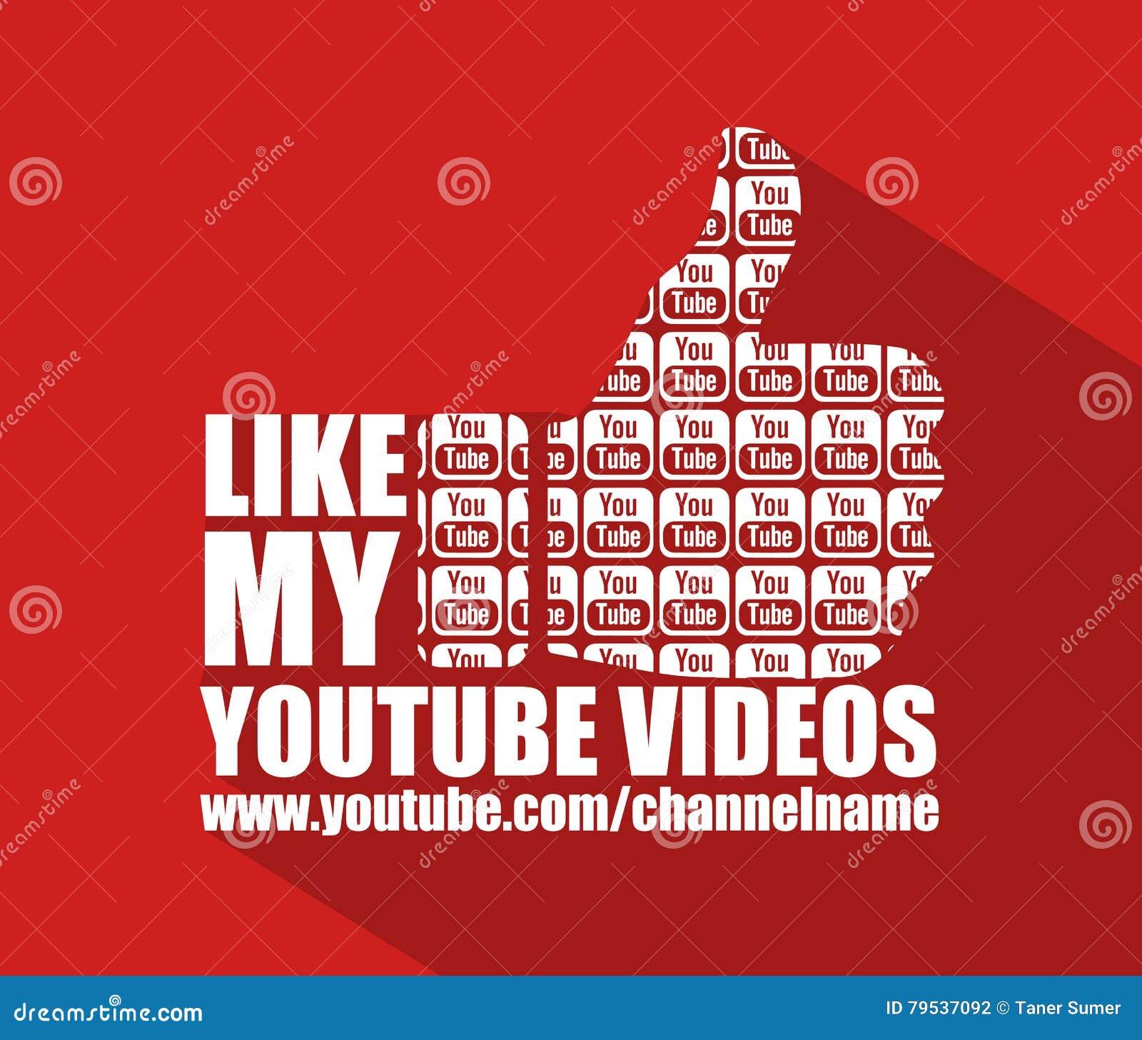 d4f28037296bc0 Achtergrond van het Youtube de Vlakke Web, Vector, Illustratie, Achtergrond