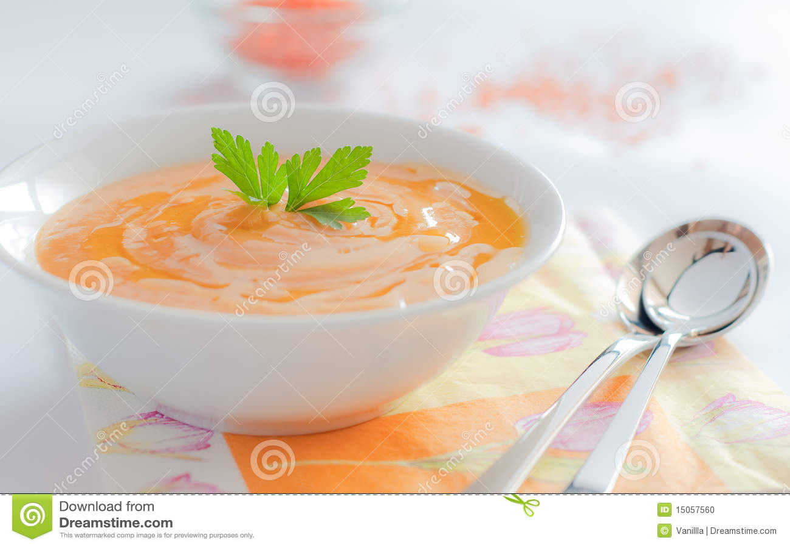 De soep van de room
