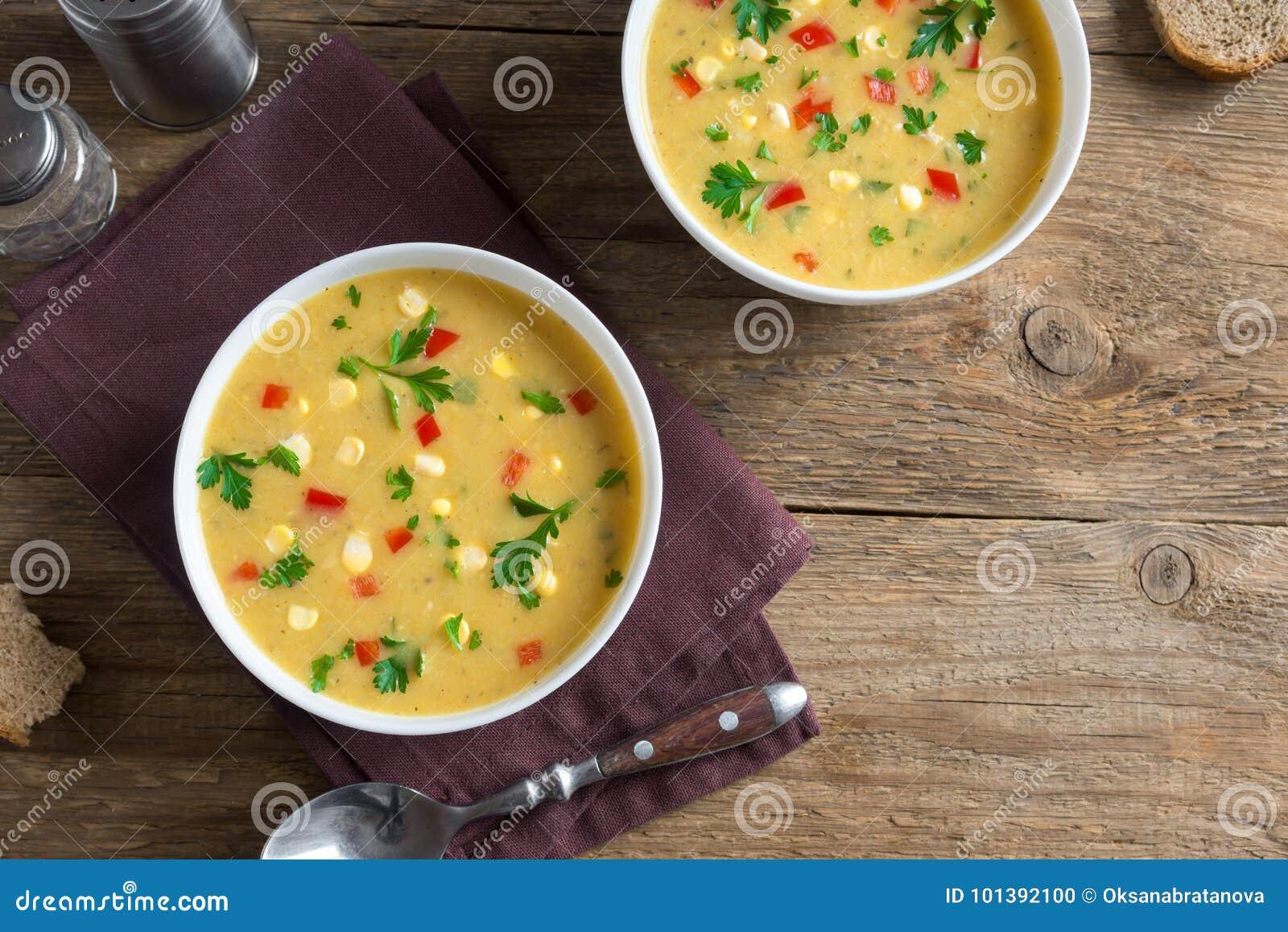 De Soep van de graanvissoep