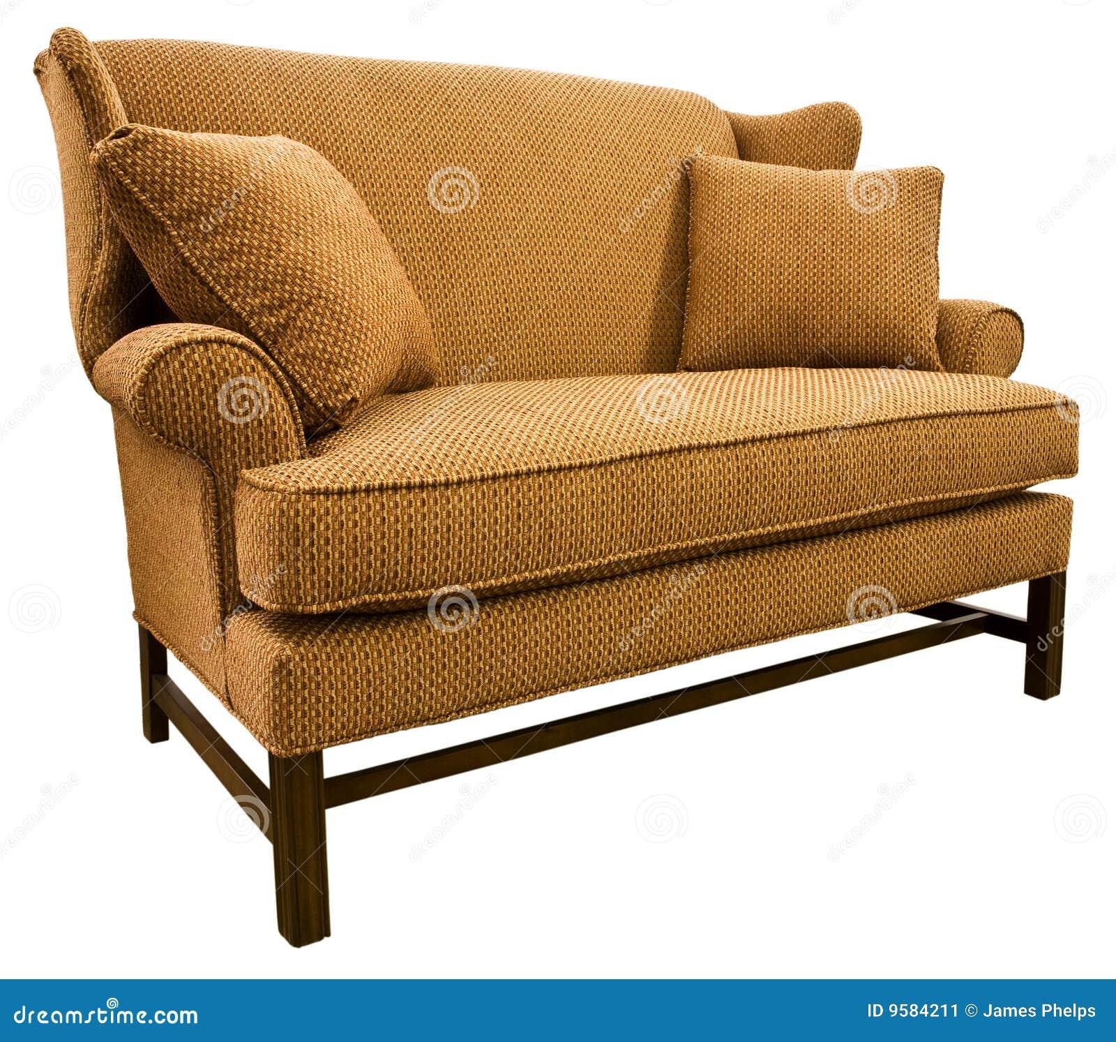 De sofa loveseat van de chippendale stock afbeelding afbeelding 9584211 - Sofa van de hoek uitstekende ...