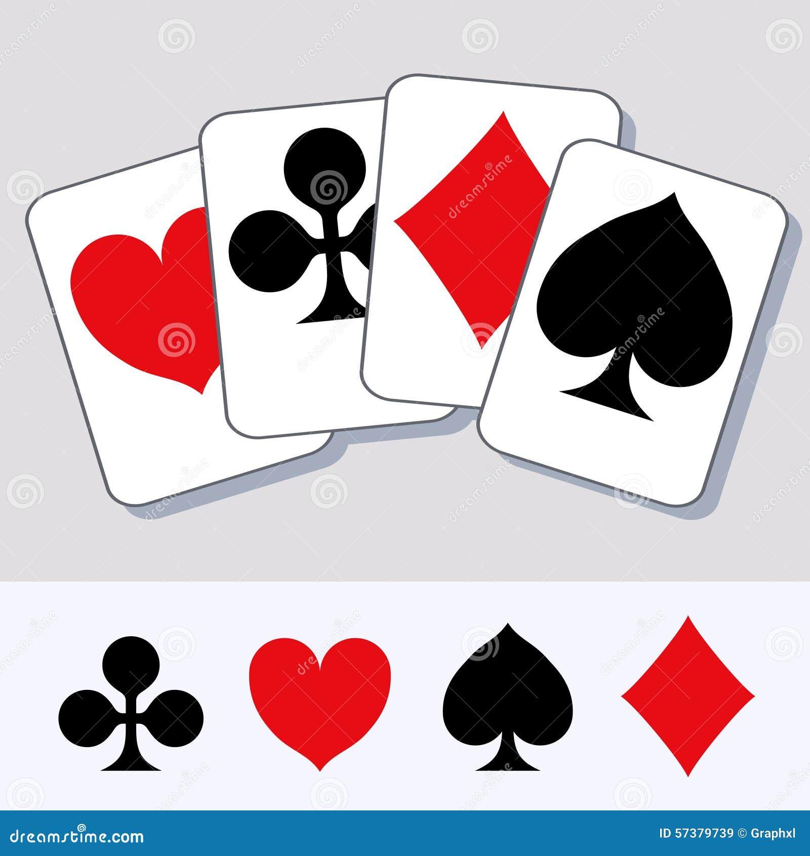 De speelkaart past 2 aan