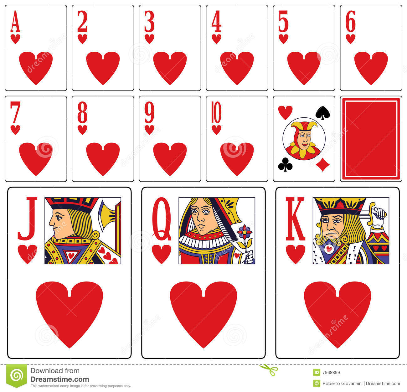 Casino card deck 13