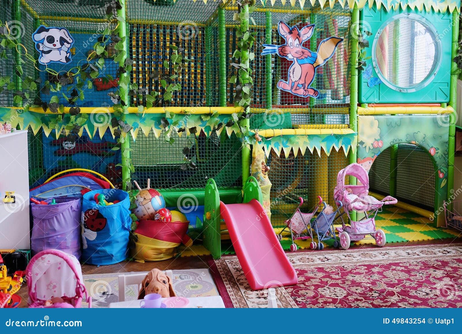 De speelkamer van lege kinderen