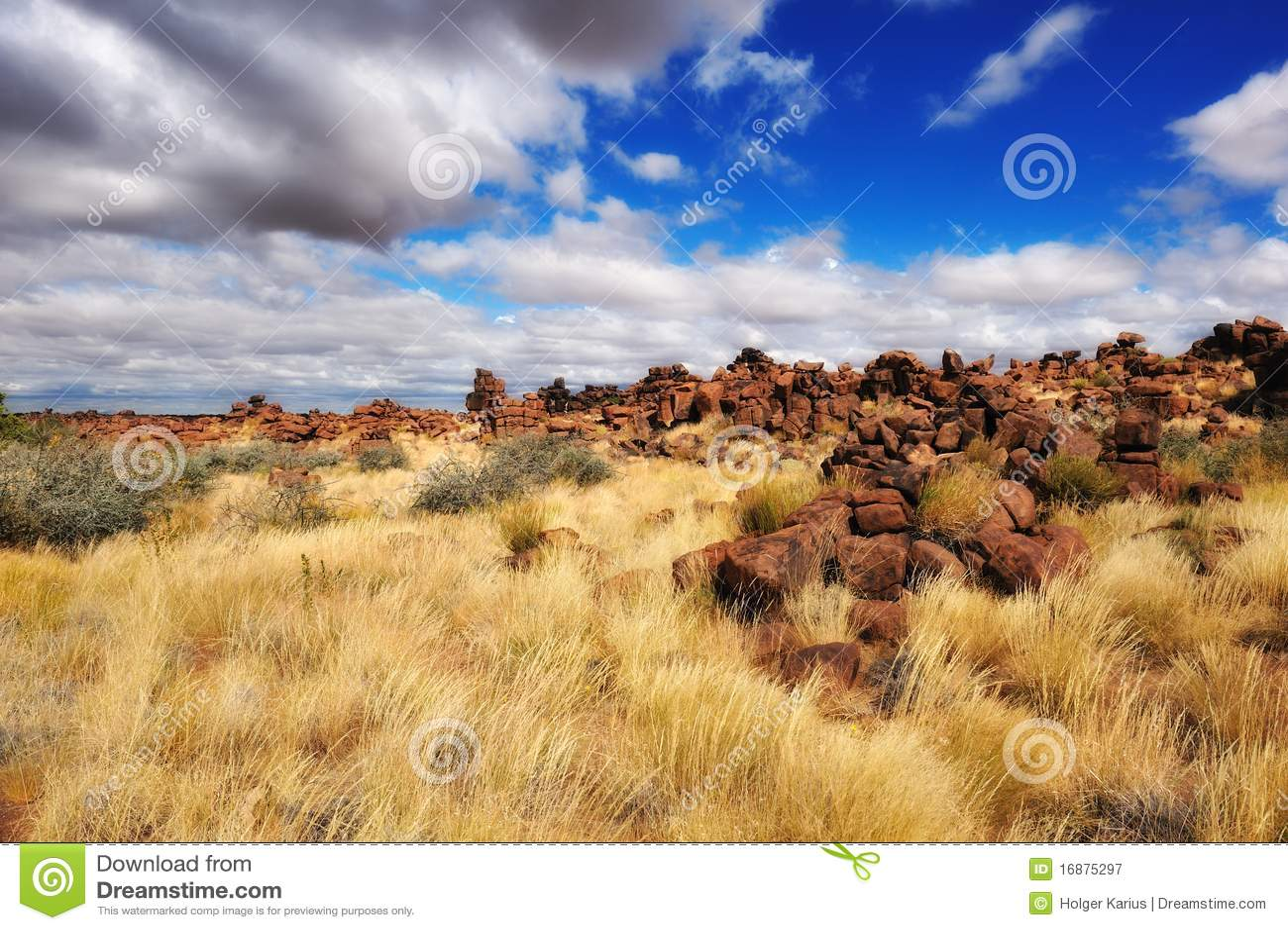 De Speelplaats van reuzen (Namibië)