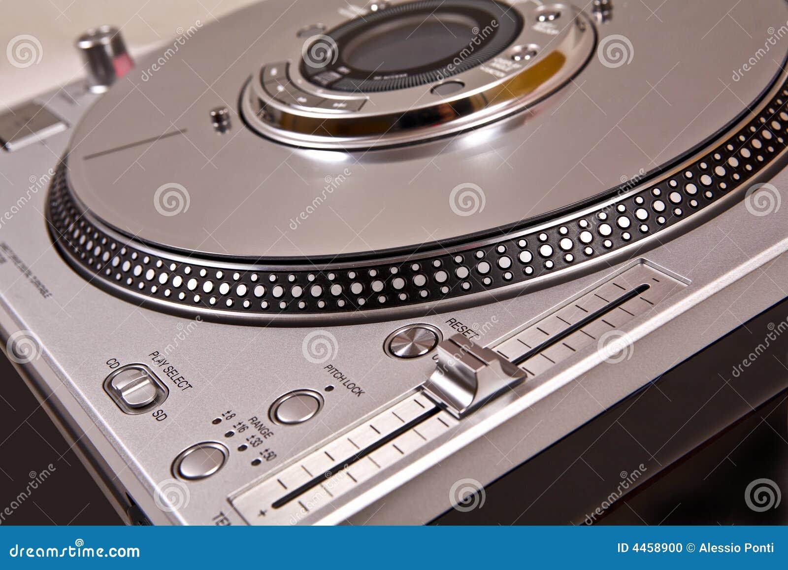 De speler van CD