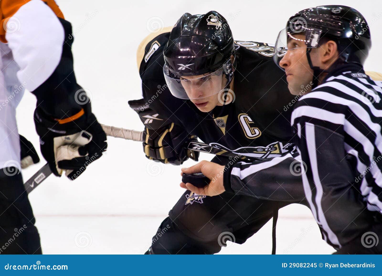 De Speler van het Hockey van Sidney Crosby NHL