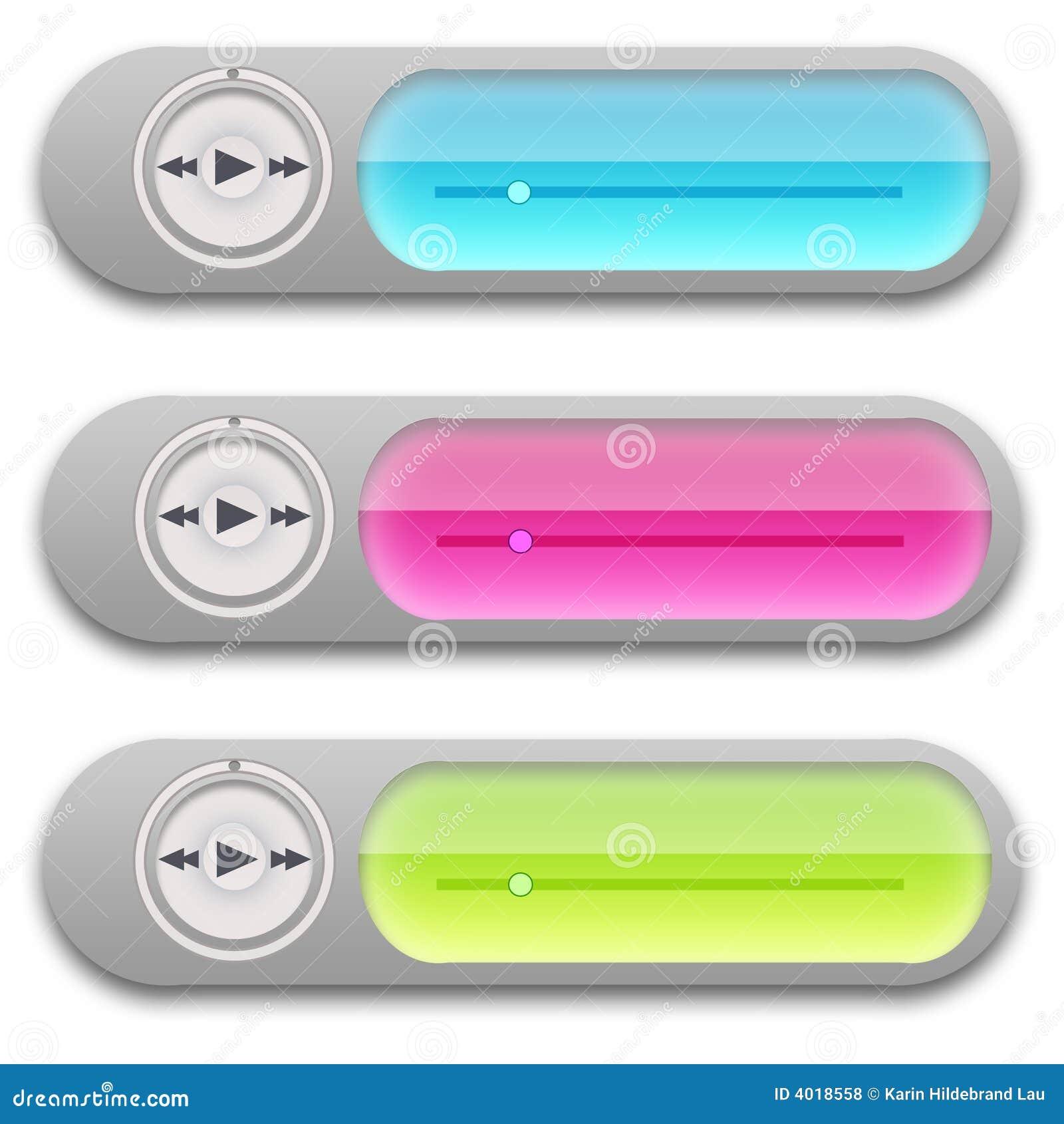 De Speler Widgets van de muziek