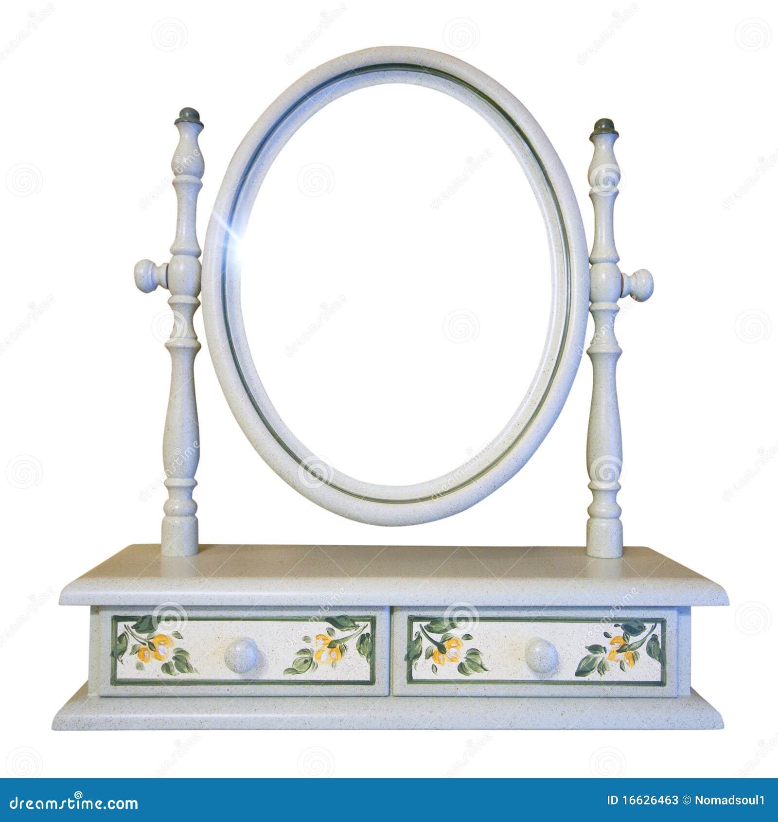 De spiegel van de toilettafel stock foto 39 s afbeelding 16626463 - Meubilair van de ingang spiegel ...