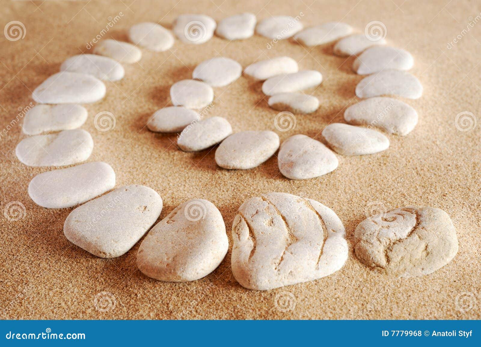 De spiraal van de steen