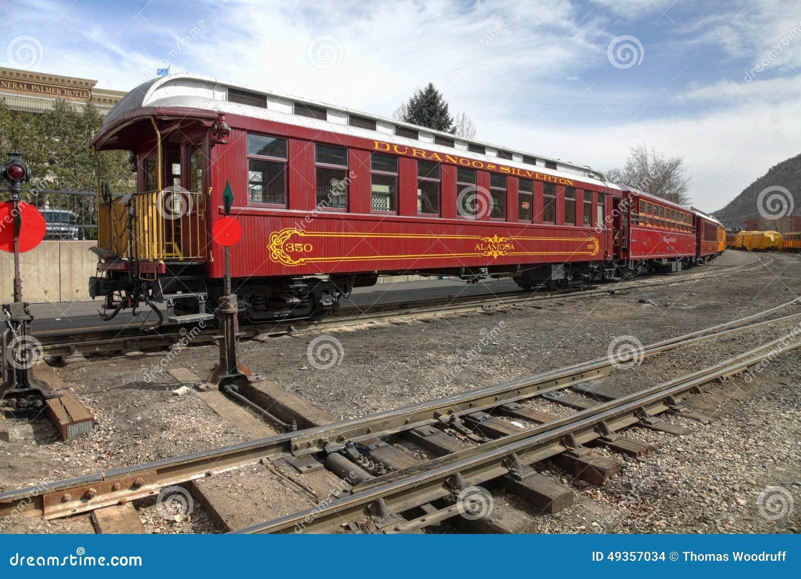 De Spoorweg van durango en Sliverton-