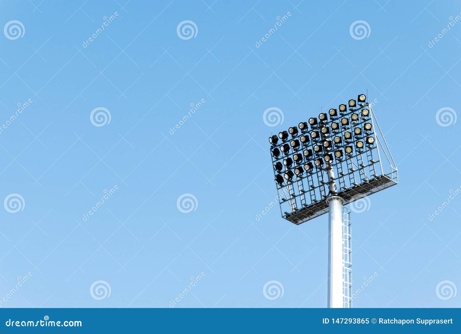 De sporten van het de industrie lichte stadion van de lamp het postelektriciteit aansteken