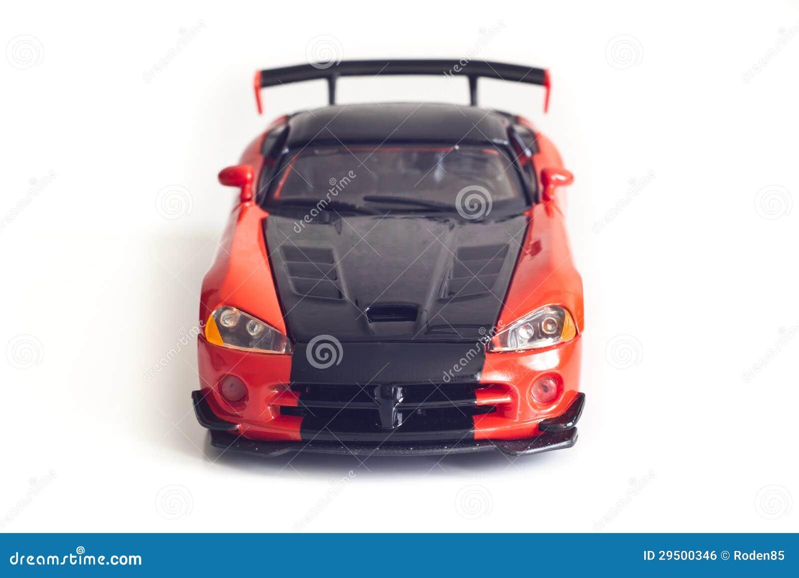 De sportwagen van het stuk speelgoed