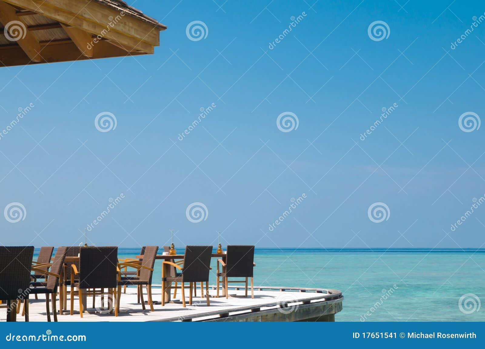 De staaf van het strand
