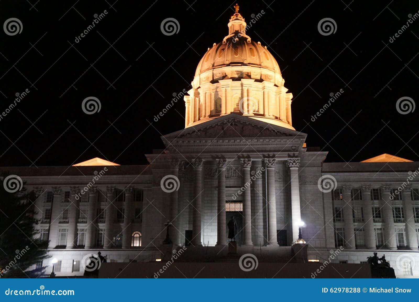De staat hoofd bouwjefferson city mo van Missouri