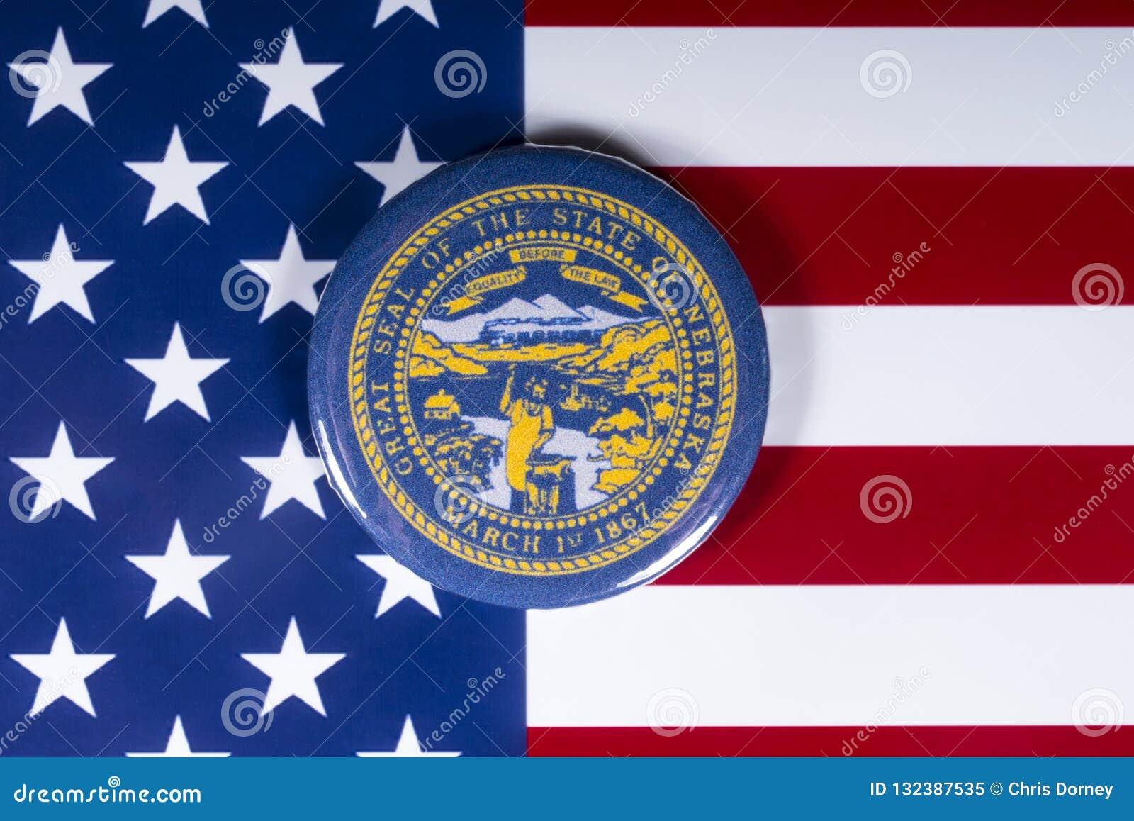 De Staat van Nebraska in de V.S.