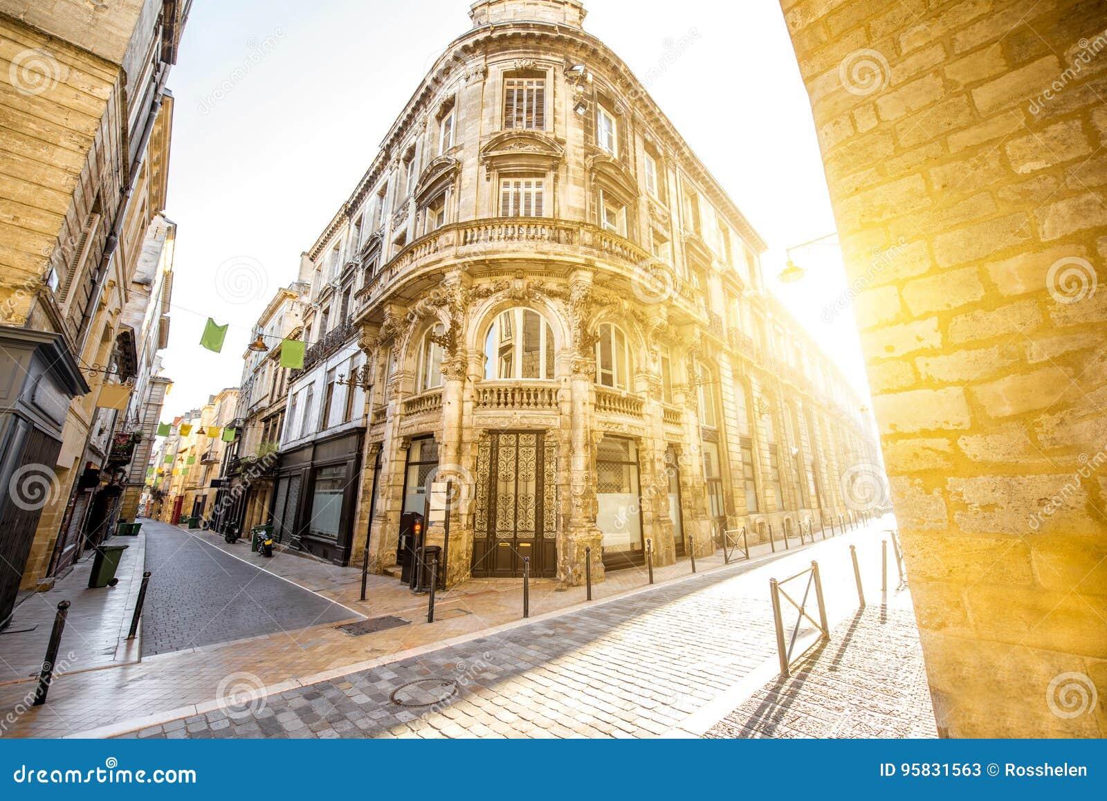 De stad van Bordeaux in Frankrijk