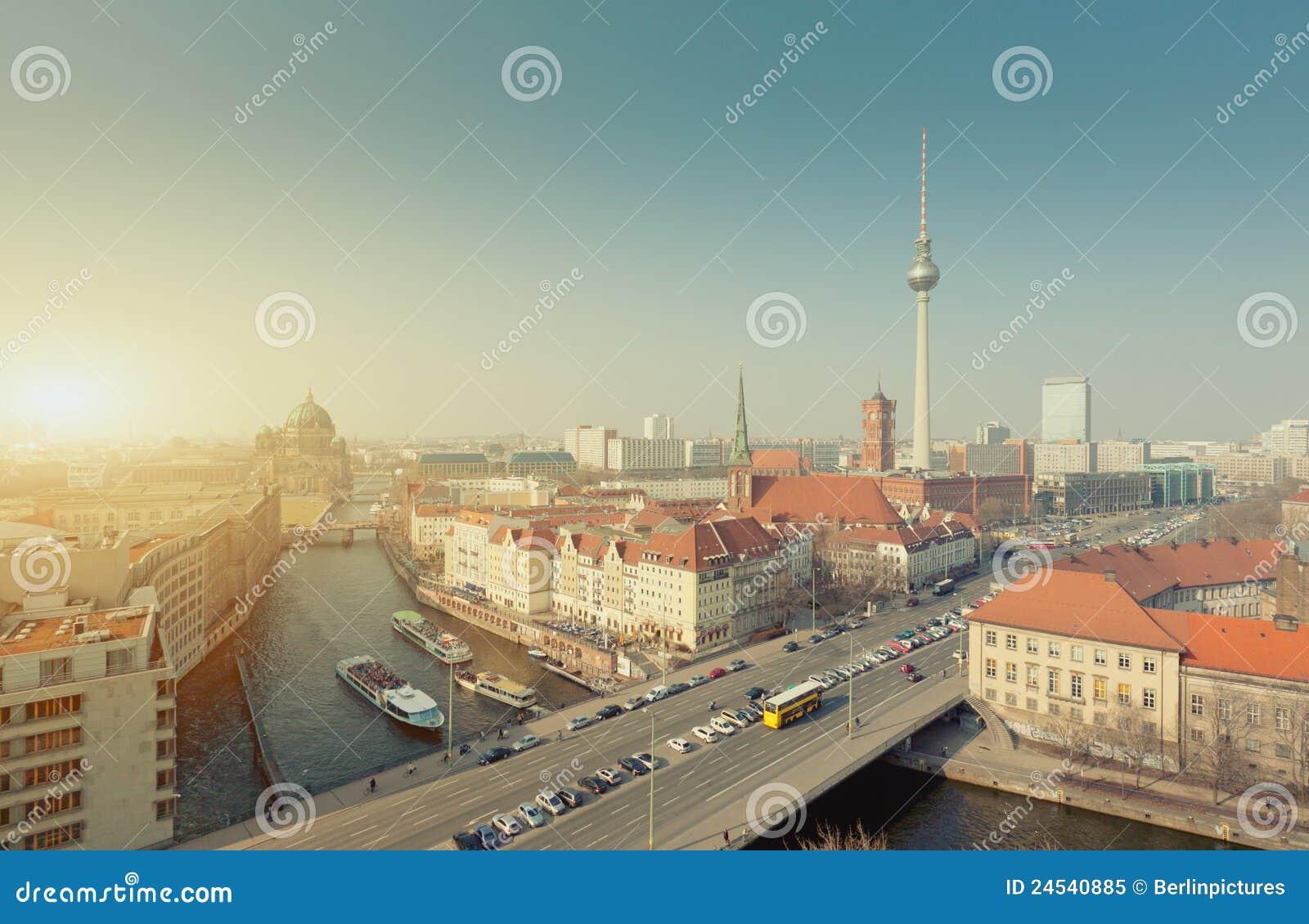 De Stad van de Horizon van Berlijn, Hoofdstad van Duitsland