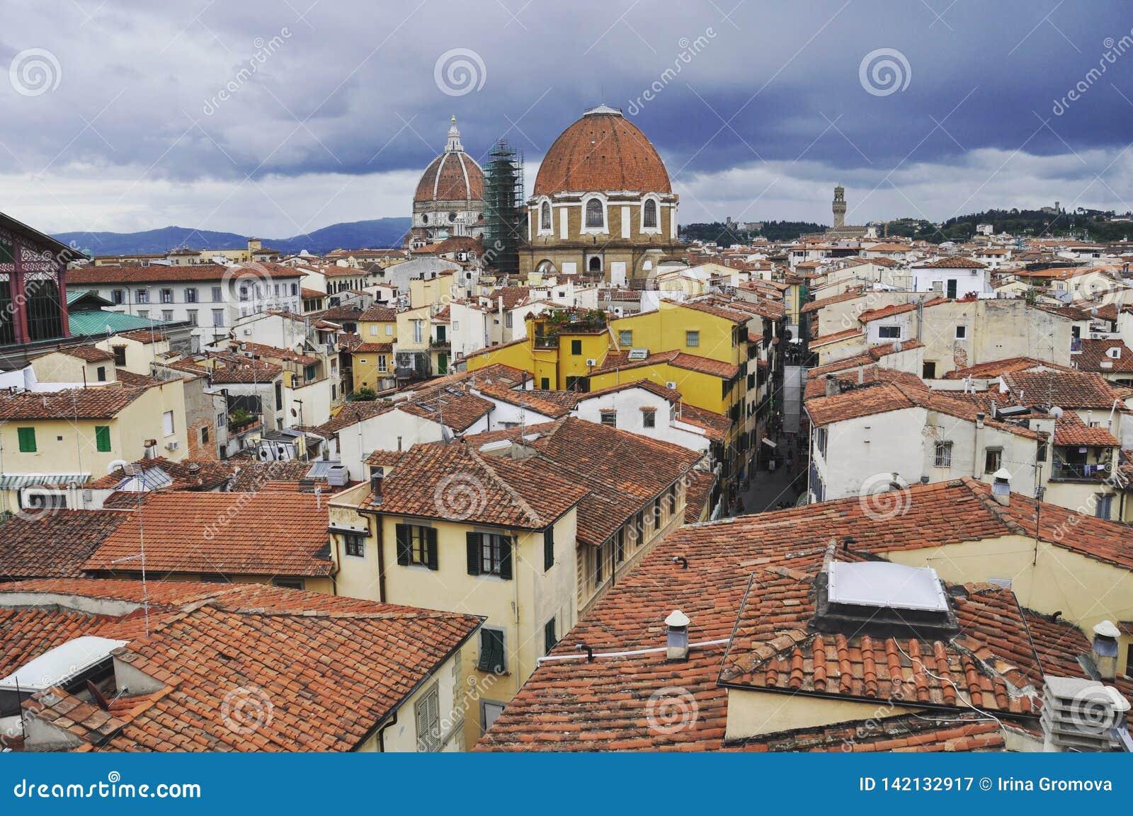 De stad van Florence