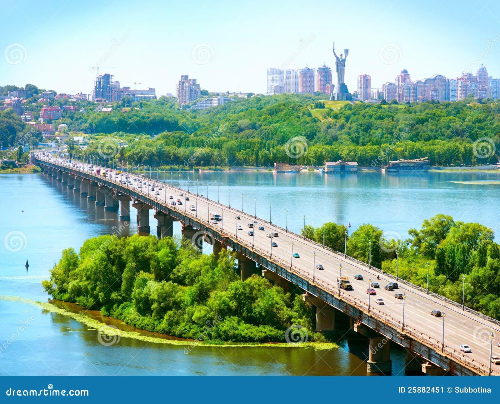 De Stad van Kiev - de hoofdstad van de Oekraïne