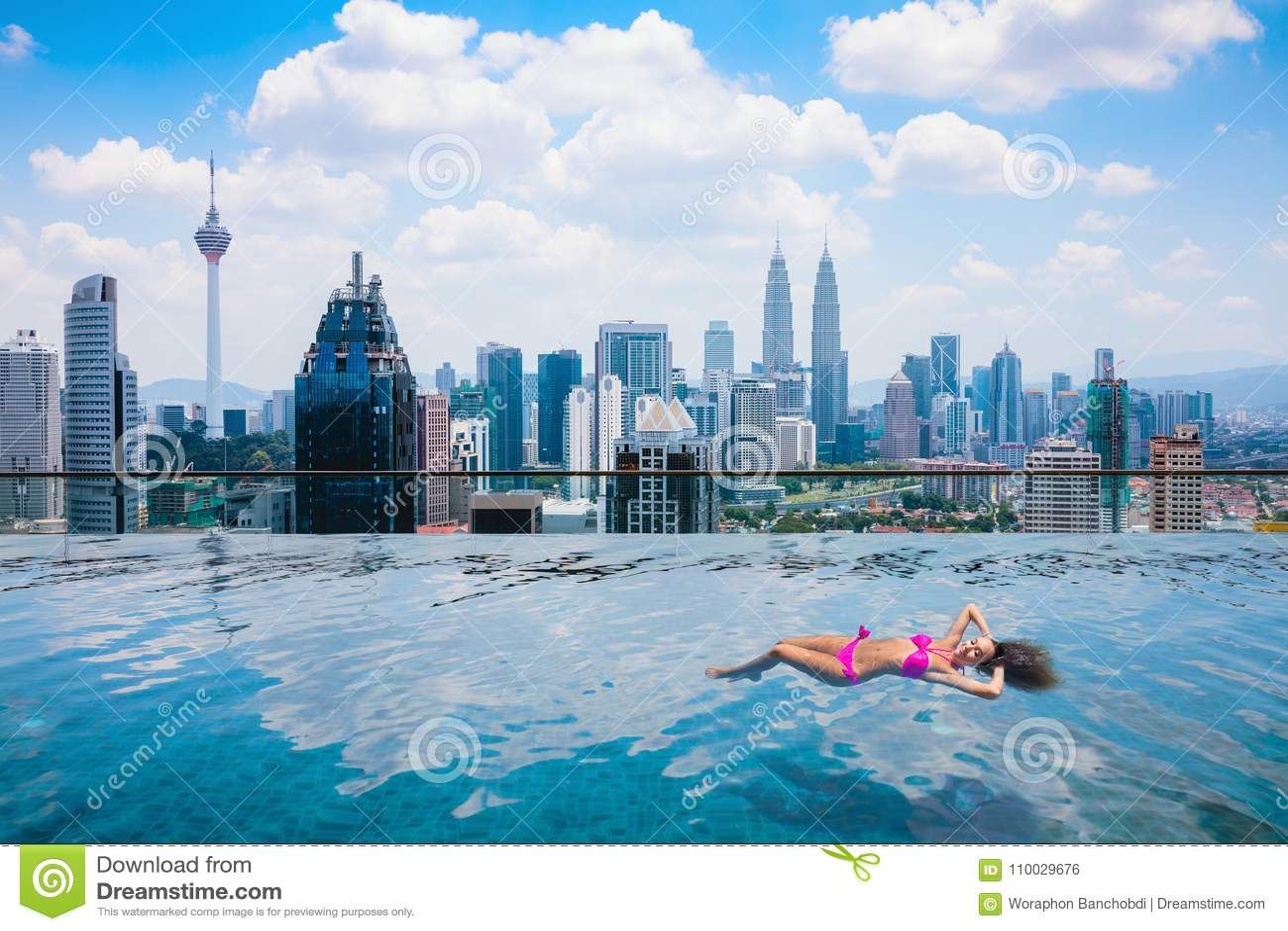 De stad van Kuala Lumpur
