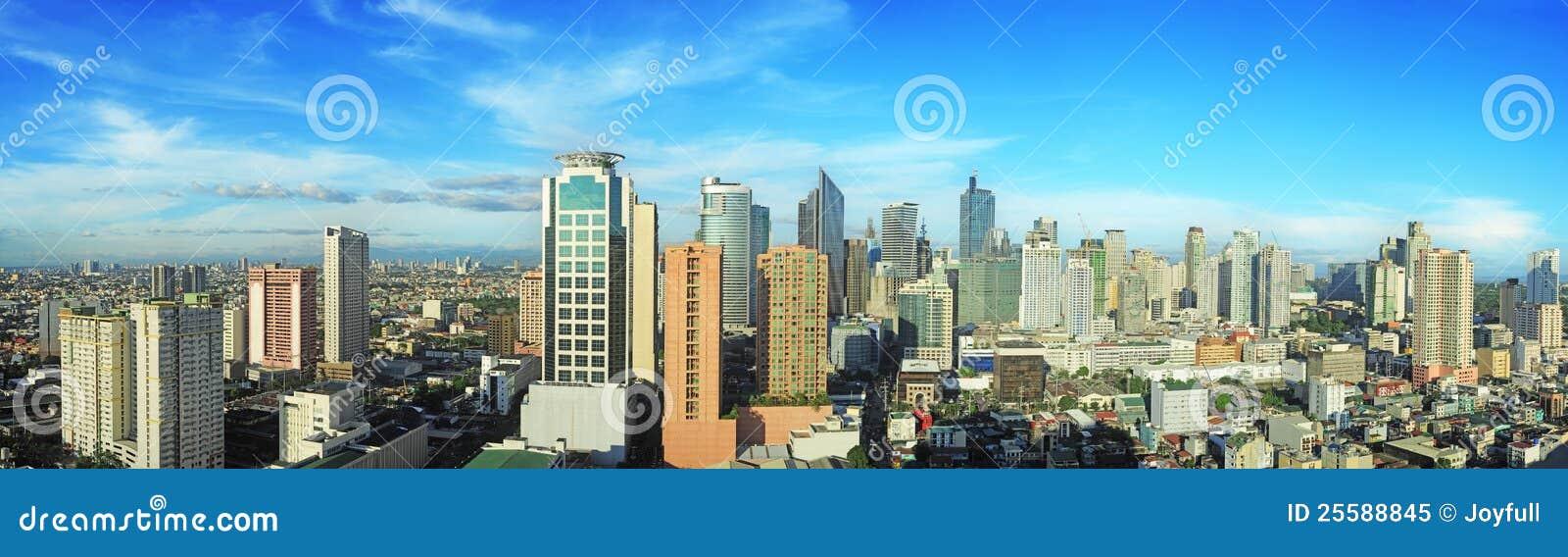 De stad van Makati