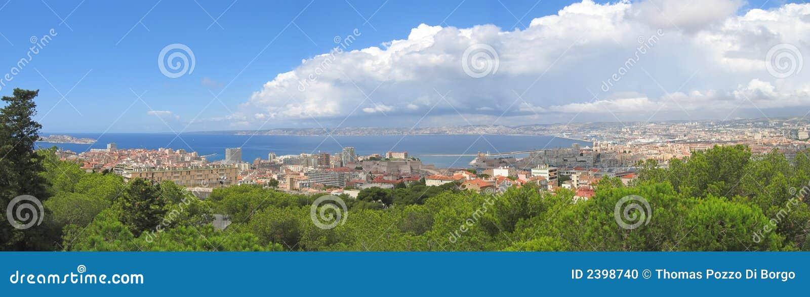 De stad van Marseille