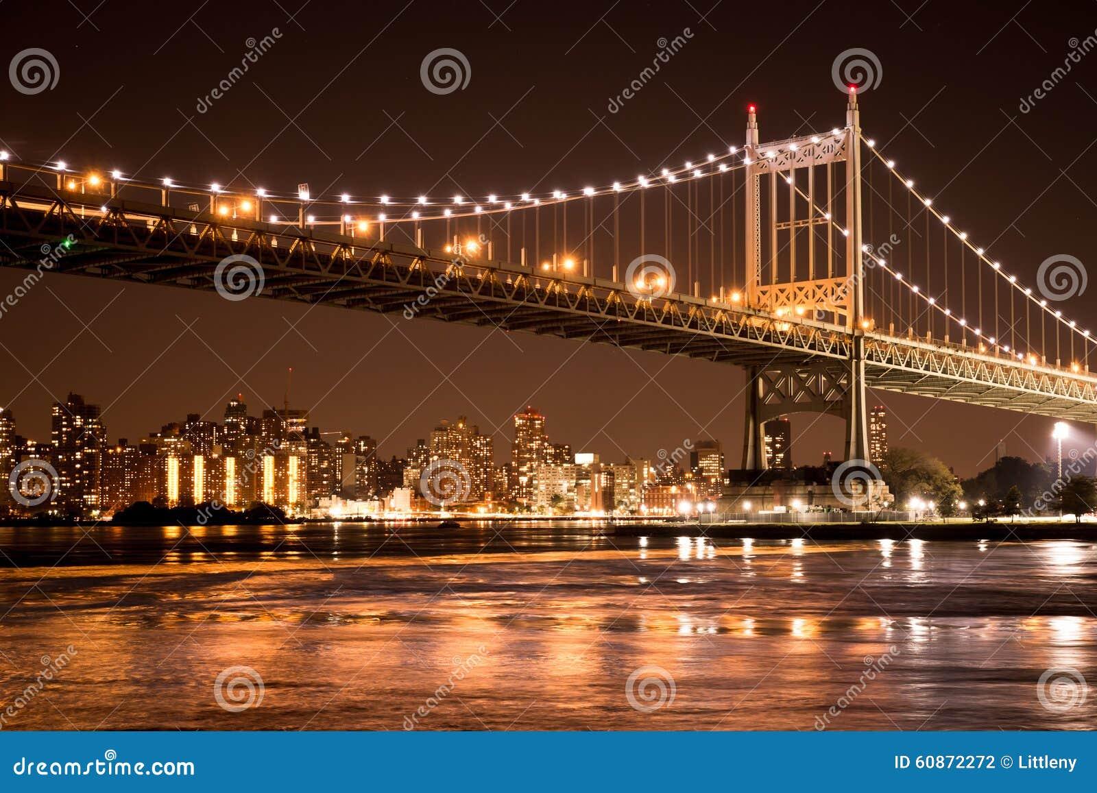 De Stad van New York van de Brug van Queensboro