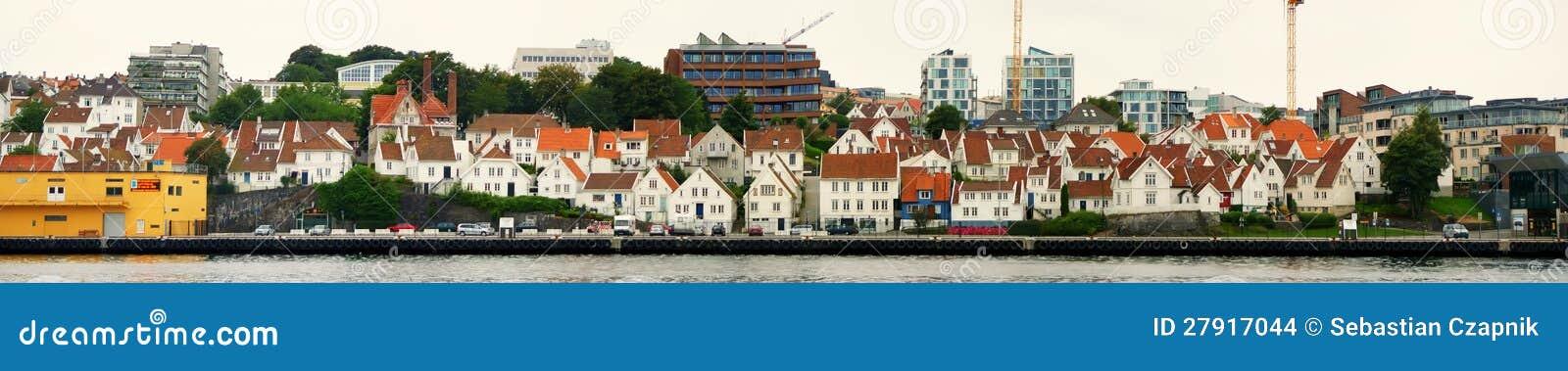 De stad van Stavanger