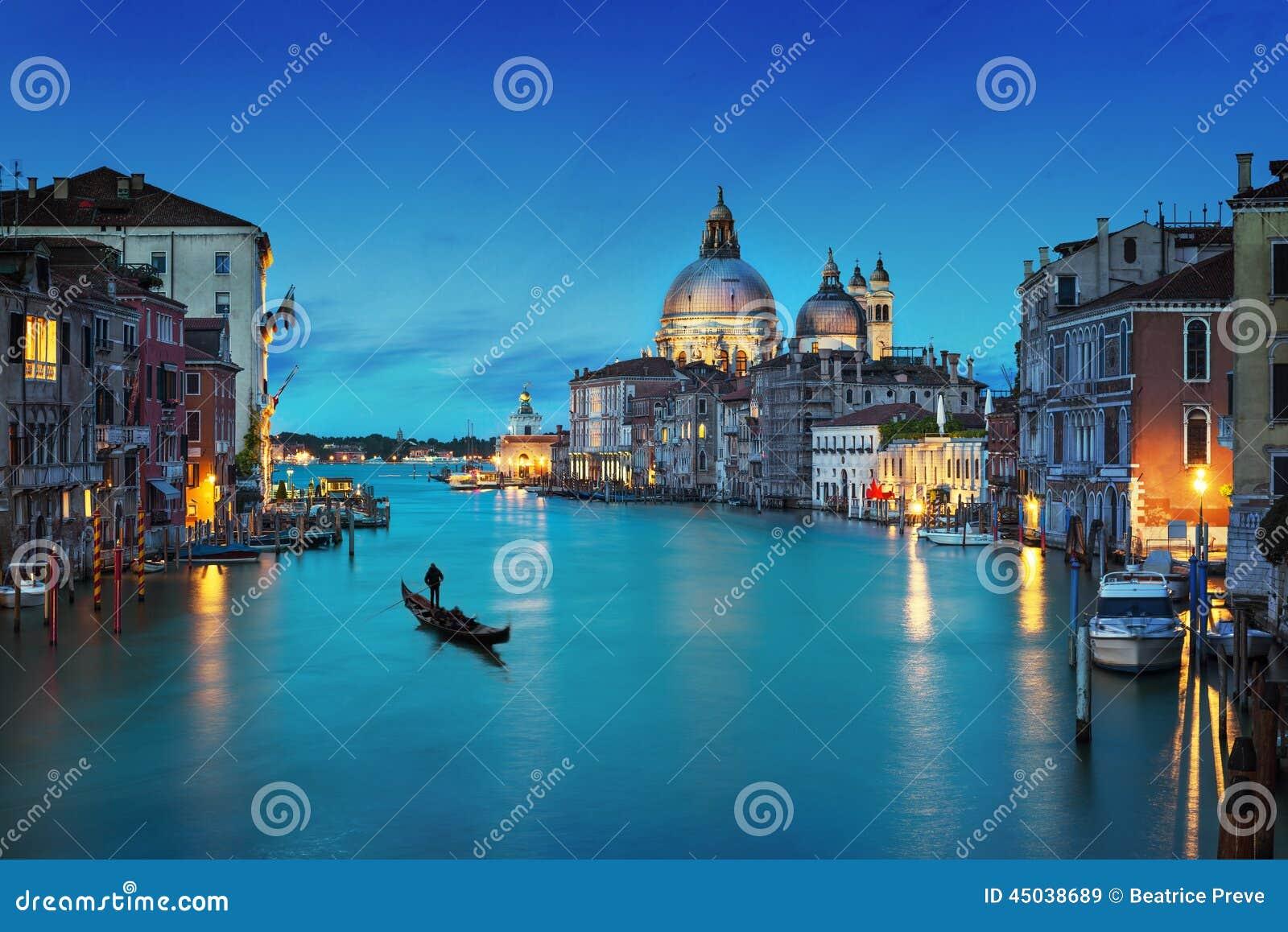 De stad van Venetië