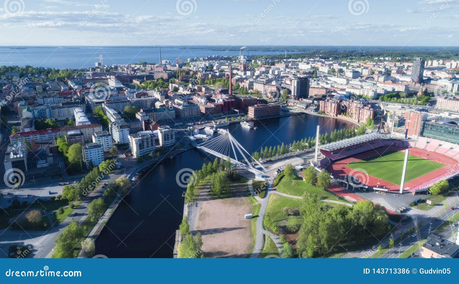 De stads hoogste mening van Tampere
