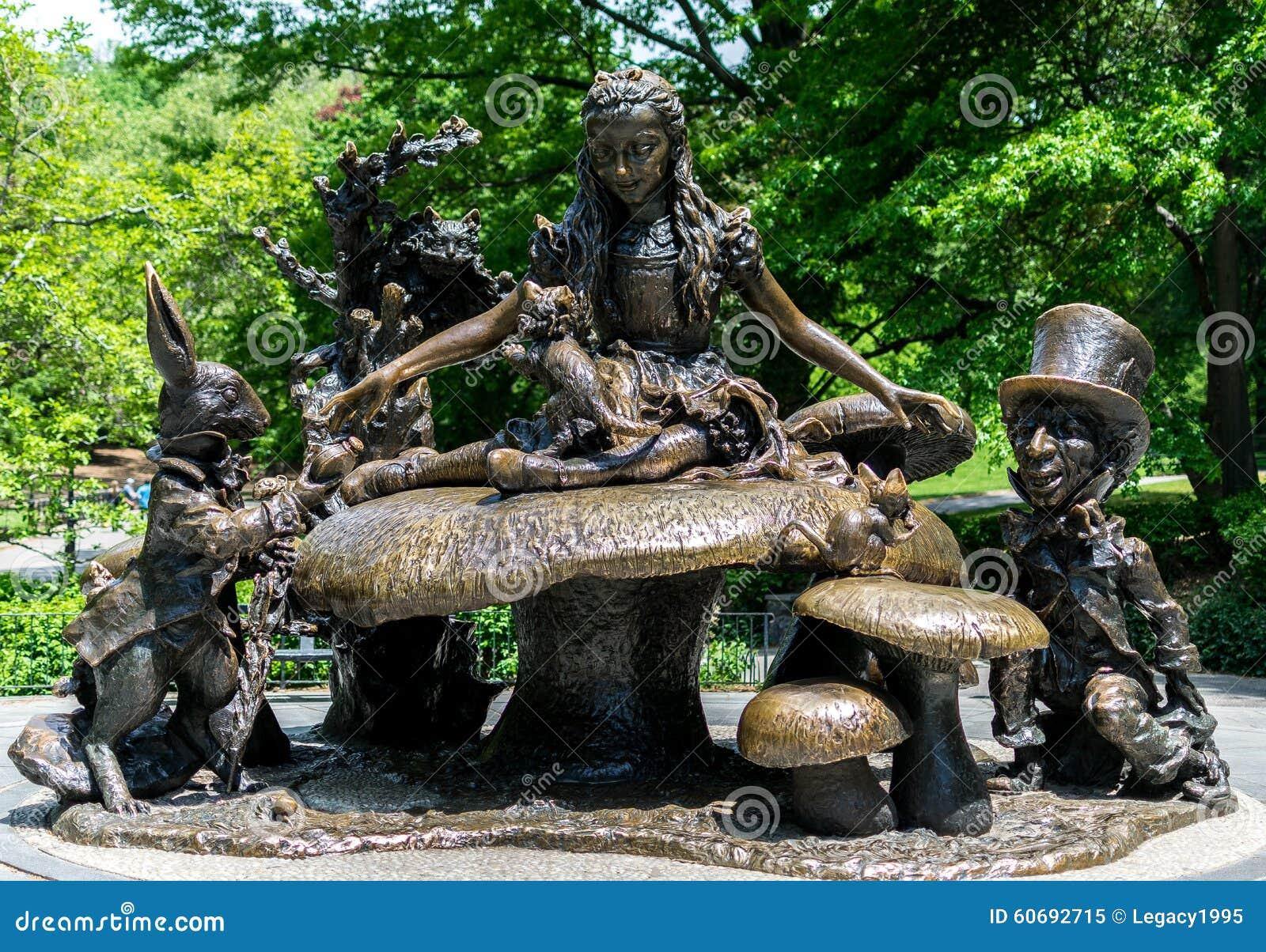 Citaten Uit Alice In Wonderland : De stadscentral park alice in wonderland van new york