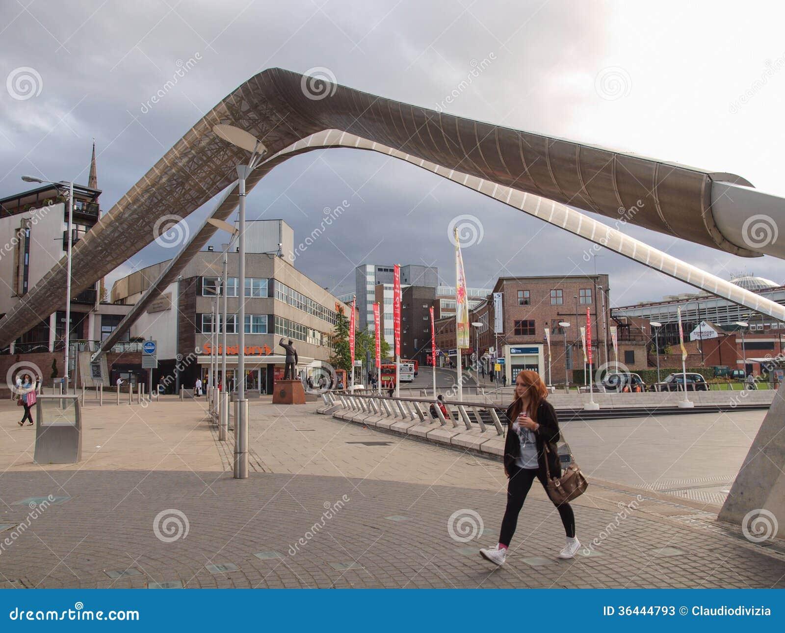 De Stadscentrum van Coventry