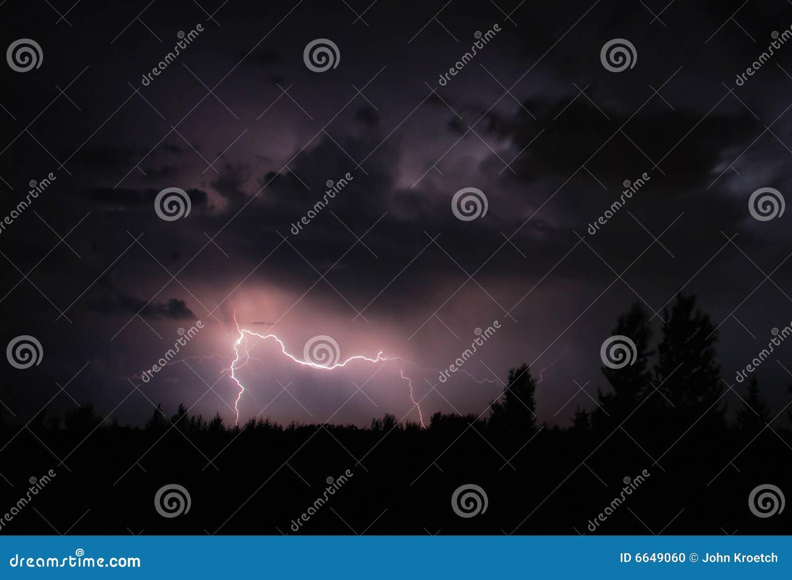 De Staking van de bliksem
